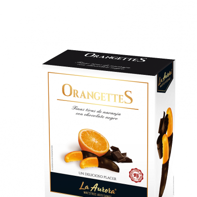 Las orangettes, también en su nuevo envase. Todas las fotos han sido cedidas por el establecimiento.
