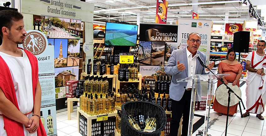 San Juan de Aznalfarache reivindica su pasado vinícola con Lagar de Ossen