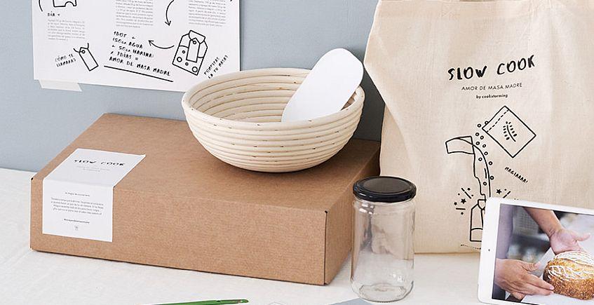 """Amor de Masa Madre"", un kit para hacer levadura natural en casa"