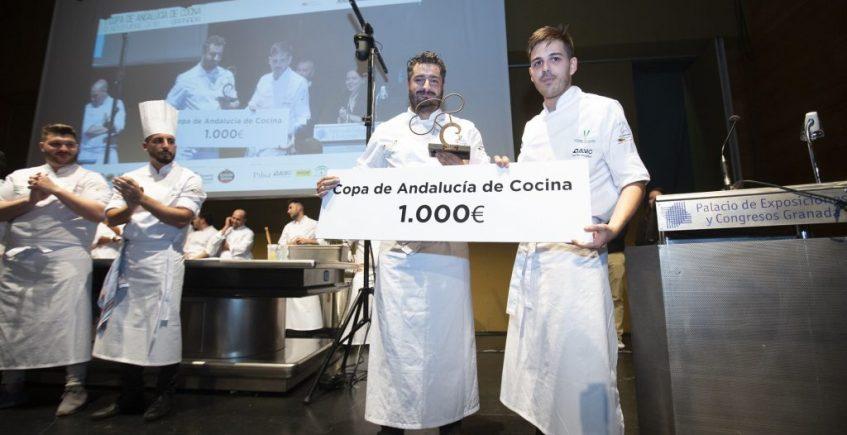 El sevillano Antonio Bort, subcampeón de la Copa de Andalucía de Cocina
