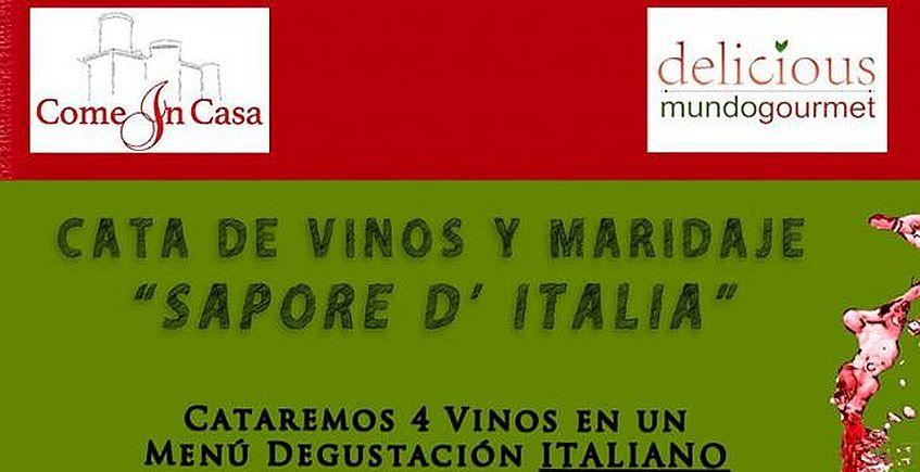 Carta de vinos y maridaje Sabores de Italia