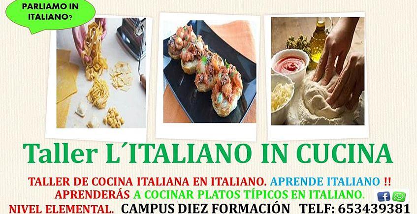 Cocinar en italiano