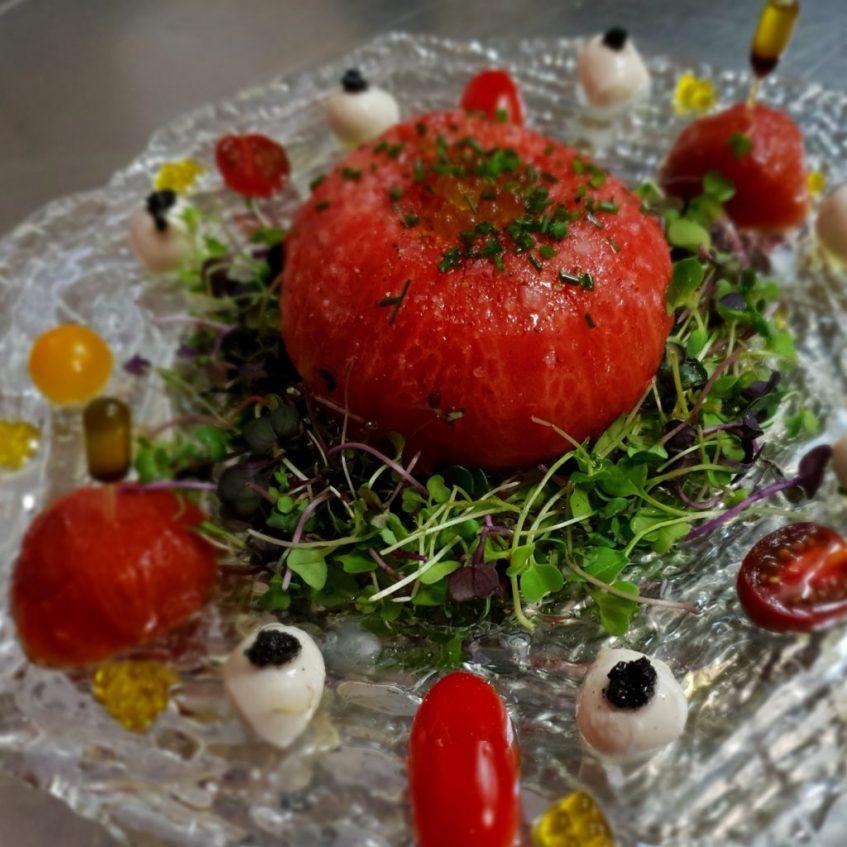 Homenaje al tomate. Foto cedida por establecimiento