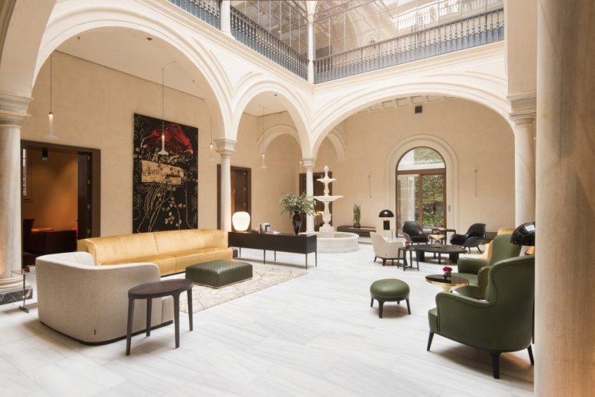 Hotel boutique 5*GL Mercer Sevilla. Foto cedida por establecimiento