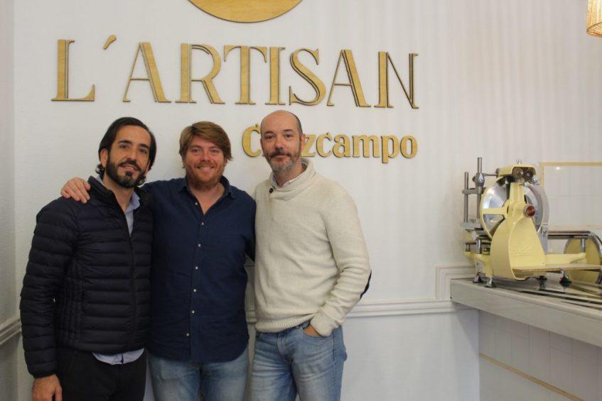 Raúl Cano, Borja Arza y Sergio Guallanone. Foto: Cosas de Comé