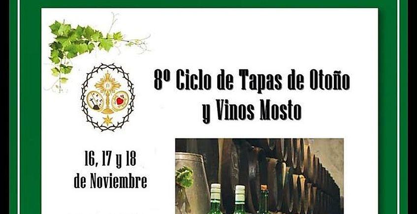 Ciclo de tapas de otoño y mostos en Valencina
