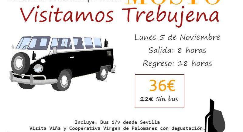 El Bus del Vino sale hacia Trebujena