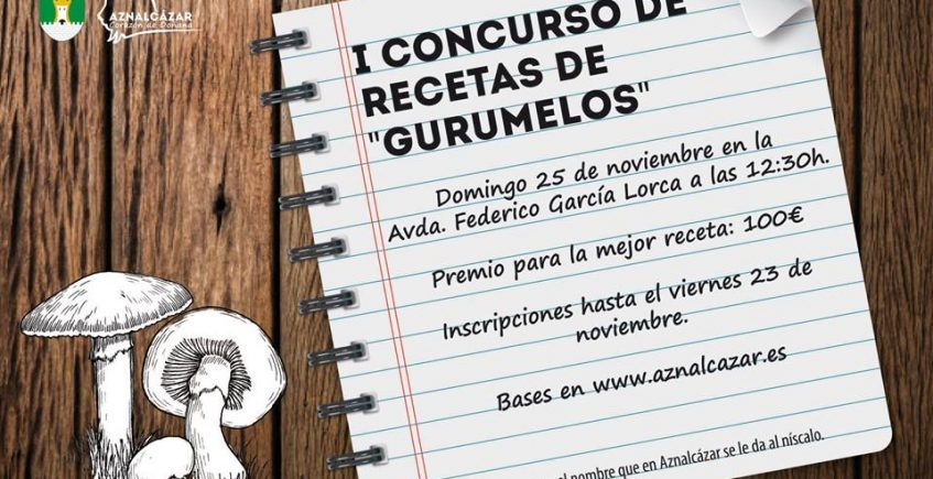 Primer concurso de recetas con gurumelos de Aznalcázar