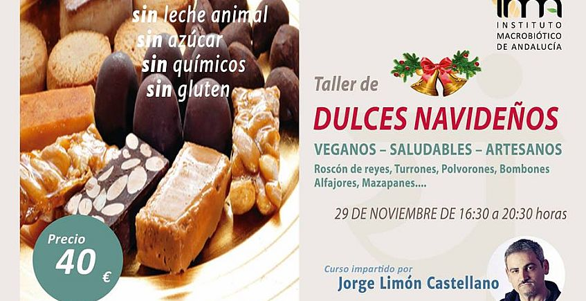 Taller de dulces navideños saludables y de cocina familiar en Sanlúcar La Mayor