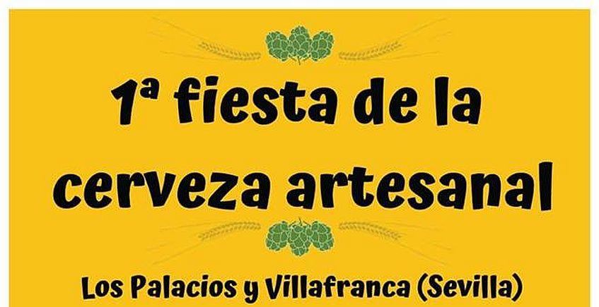 Primera fiesta de la cerveza artesanal de Los Palacios y Villafranca