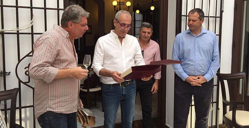 Homenaje al autor del libro Aguas de España y del Mundo