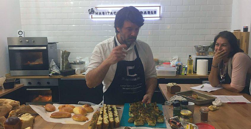 Ibán Yarza dará cursos de pan en Sevilla del 29 de noviembre al 1 de diciembre