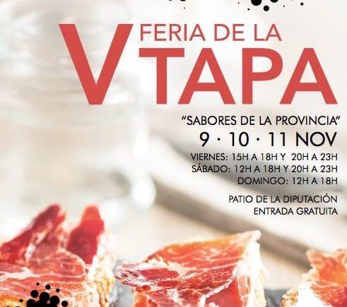 V Feria de la Tapa en Diputación