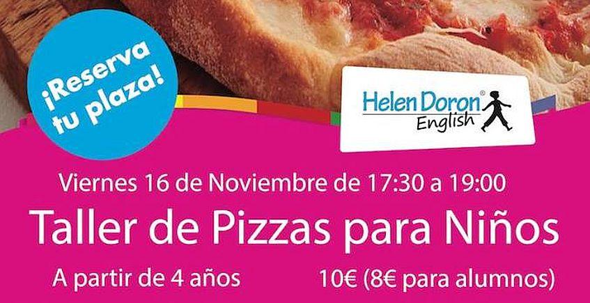 Un taller de pizzas... para que los niños aprendan inglés