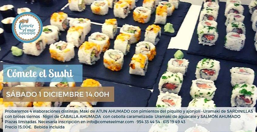 Día del sushi en Cómete el Mar