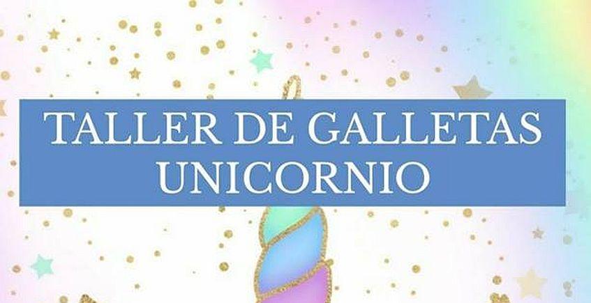 Taller de galletas de Unicornio