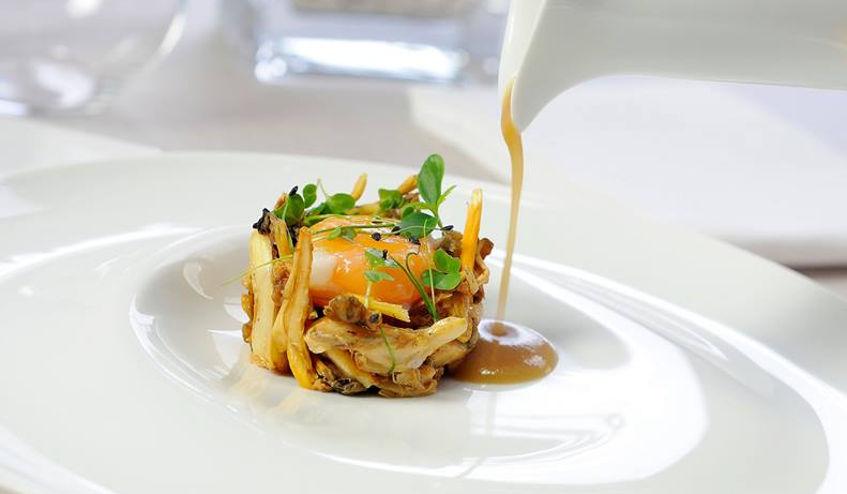 Plato del restaurante Abantal. Foto: Cedida por el establecimiento