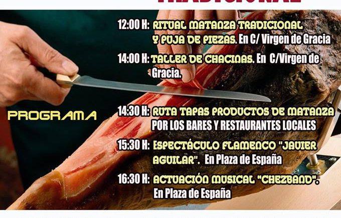 Jornada y ruta de la tapa dedicada a la matanza tradicional en El Ronquillo