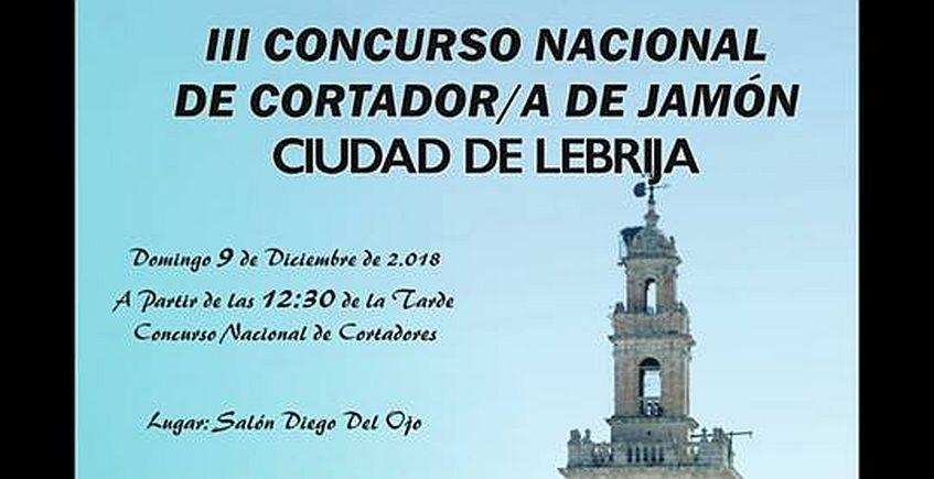 Concurso nacional de cortador de Jamón en Lebrija