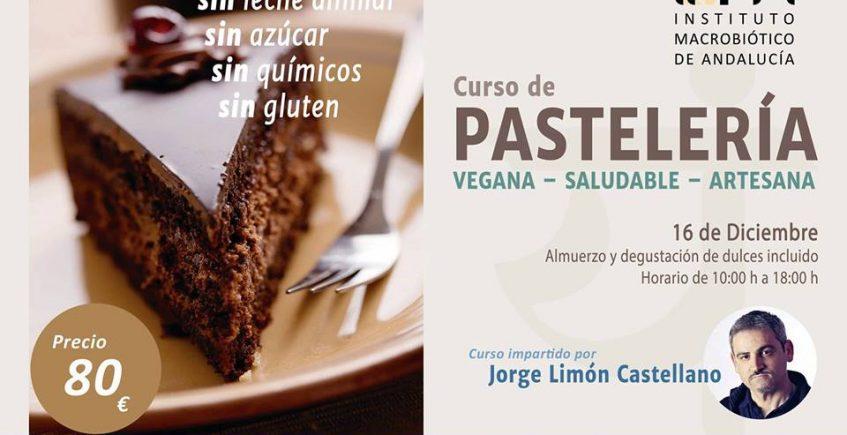 Taller de pastelería vegana, saludable y artesana