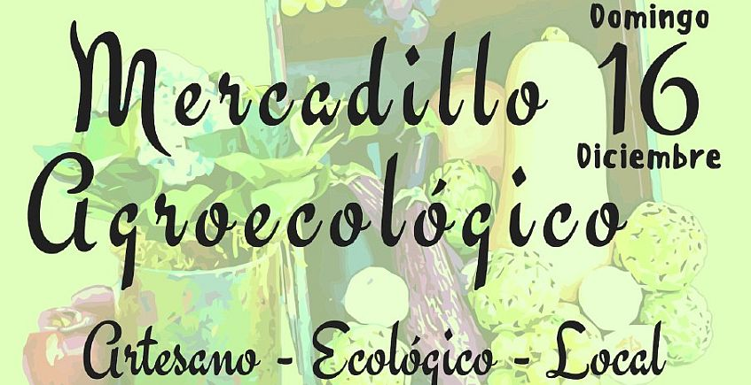 Mercadillo agroecológico en el Parque de San Jerónimo