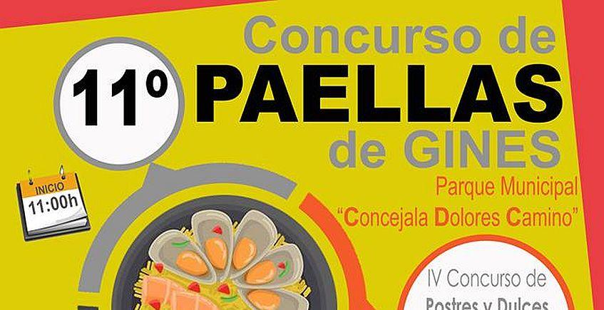 Gines celebra el Día de la Constitución con concursos de paellas, postres y dulces tradicionales