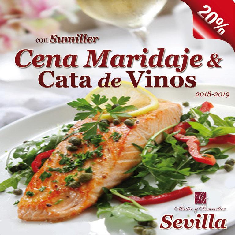 2019-Cena-Maridaje-con-Cata-de-Vinos-en-Sevilla