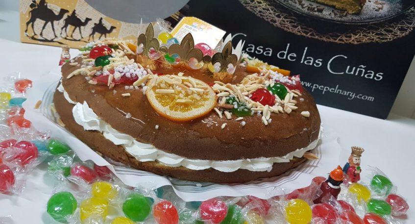El roscón de nata de Pepelnary. Foto cedida por establecimiento