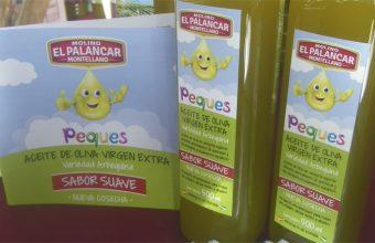 Así es el aceite Peques del Molino El Palancar especialmente indicado para niños. Foto: Cosasdecome