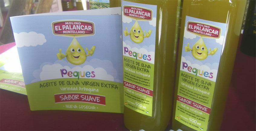 El Molino El Palancar de Montellano crea un aceite de oliva virgen extra especialmente destinado al público infantil