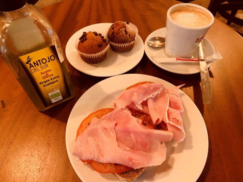 Desayuno del nuevo Crustum. Foto: Cosas de Comé