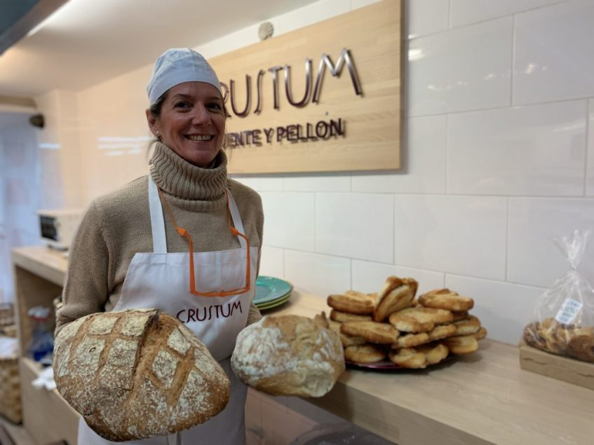 Beatriz Palomo, en el obrador de Puente y Pellón. Foto: Cosas de Comé