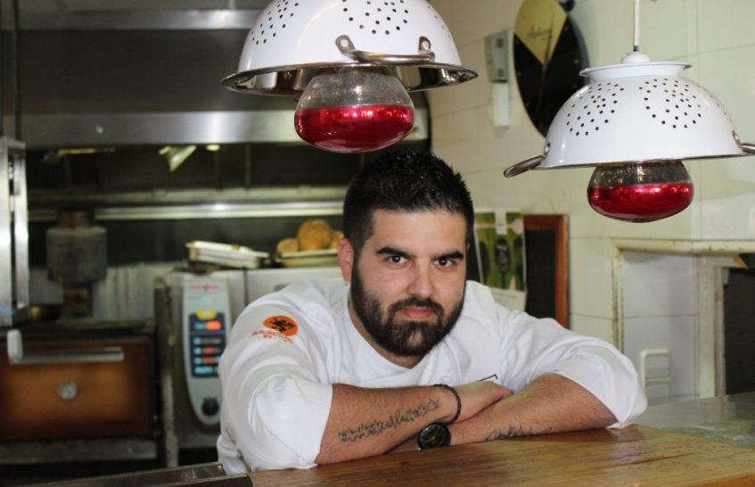 José Luis Pastrana, jefe de cocina de Rocala. Foto: Cosas de Comé