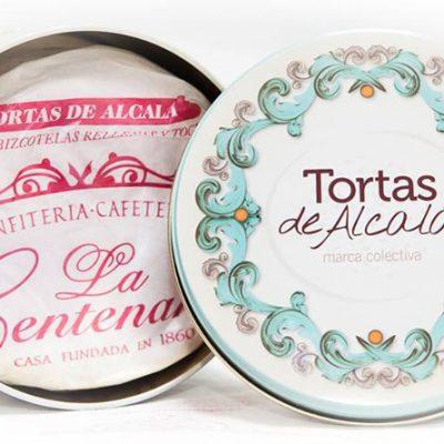Versión de las tortas de Alcalá de la confitería La Centenaria. Foto: Cedida por el establecimiento.