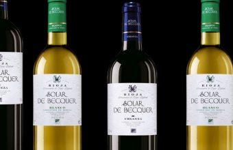 Los vinos de la bodegas Escudero que homenajean a Bécquer. Foto: Cedida por la bodega