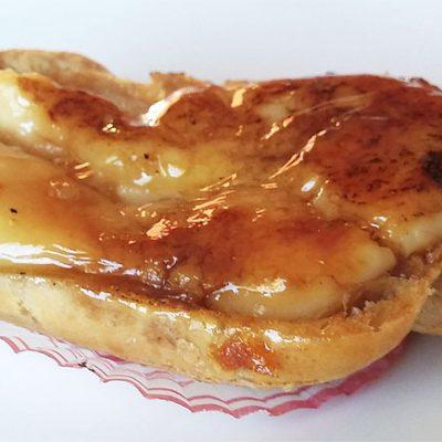 La crema tostada, una de las especialidades de La Centenaría de Alcalá de Guadaira. Foto: Cosasdecome