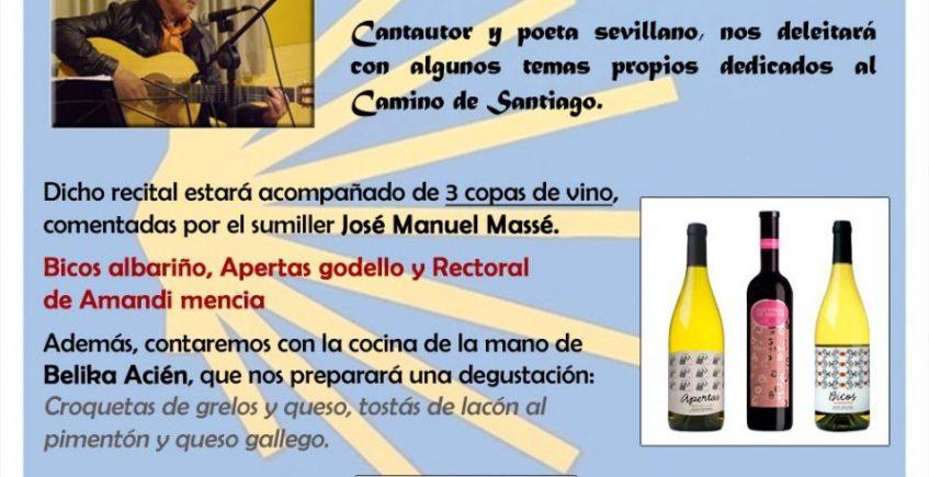6 de febrero. Sevilla. Vino y música Camiño de Santiago
