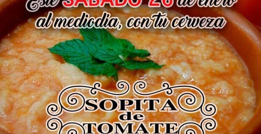 26 de enero. Alcalá de Guadaíra. Degustación de sopa de tomate