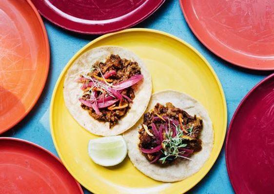Tacos al pastor. Foto cedida