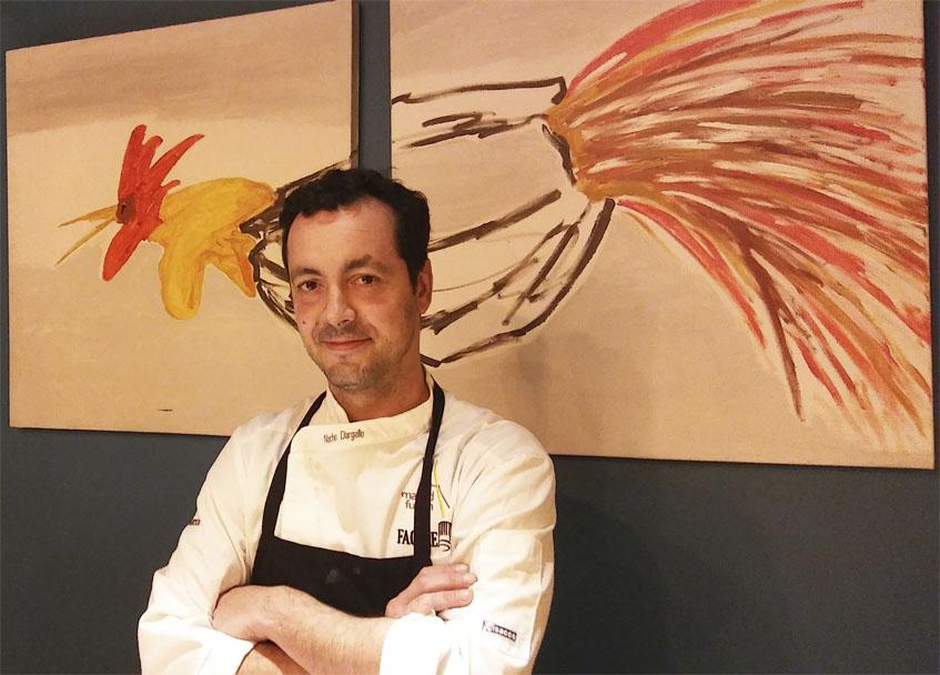 El cocinero Nacho Dargallo. Foto: Cosasdecome
