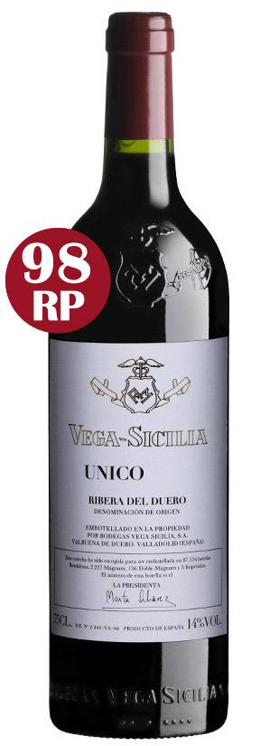 Vega Sicilia Único 2009. Foto cedida