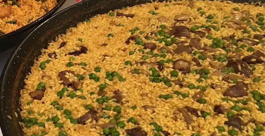 El arroz, protagonista desde el lunes en los fogones del Alabardero
