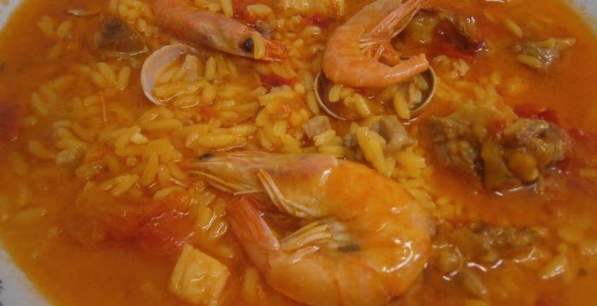 23 de febrero. Degustación de arroz meloso en la Taberna de Andrés