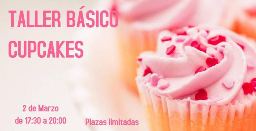 2 de marzo. Taller básico de cupcakes