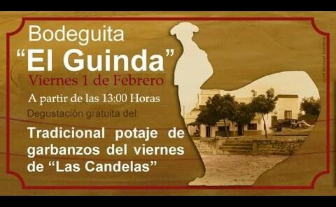 1 de febrero. Degustación de potaje de garbanzos en La Puebla de los Infantes