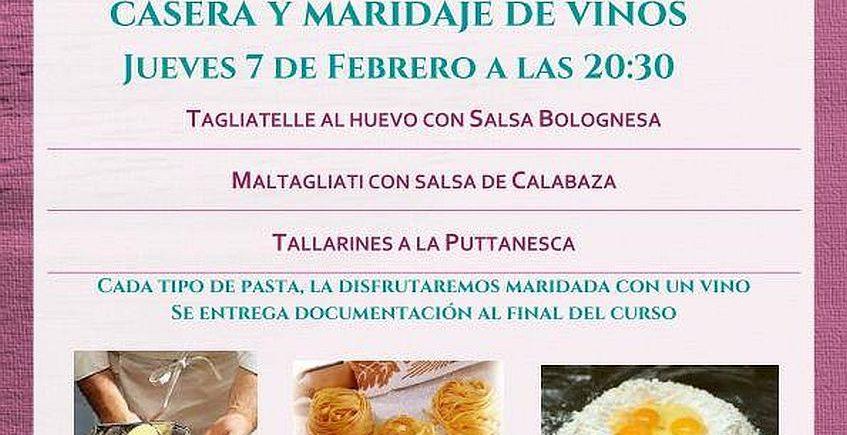 7 de febrero. Sevilla. Curso de elaboración de pasta