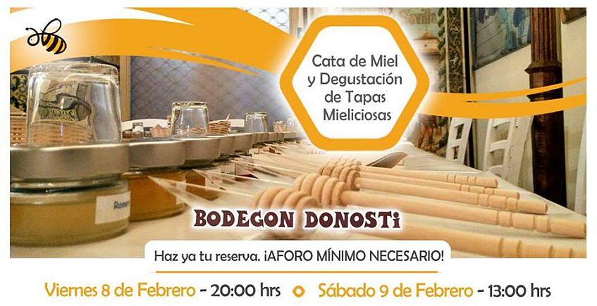 8 y 9 de febrero. Sevilla. Catas de miel y degustación de tapas