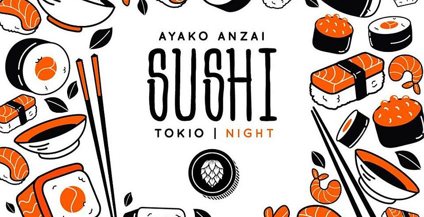 21 de febrero. Comida japonesa y cerveza artesana