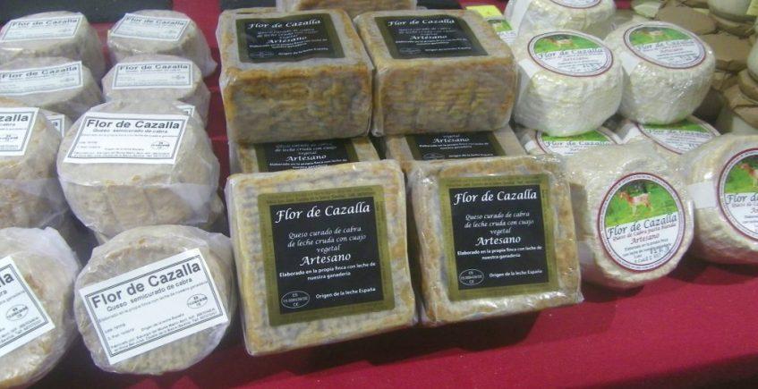El queso cuadrado de Cazalla que rompe moldes