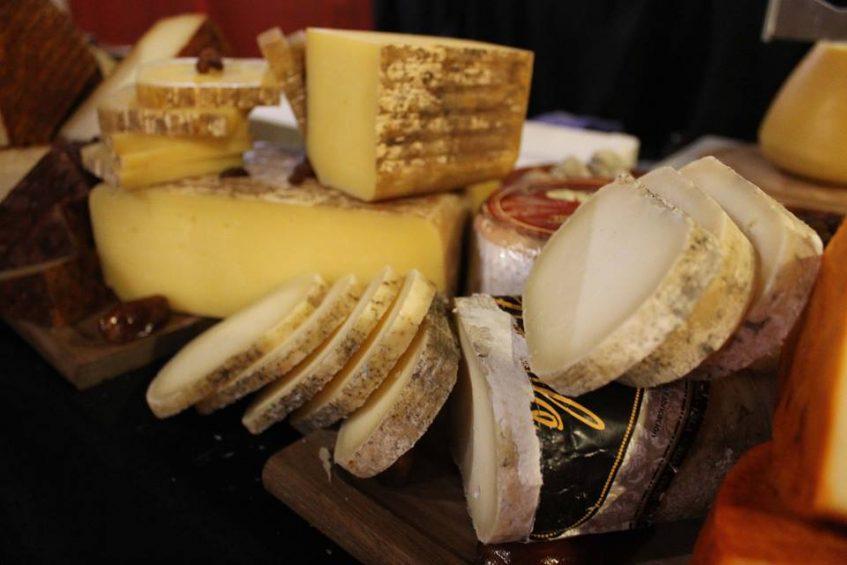 Cata de quesos nacionales del pasado 31 de enero. Foto: CosasDeComé